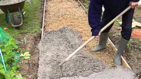 comment faire une dalle en b 233 ton coul 233 une dalle en