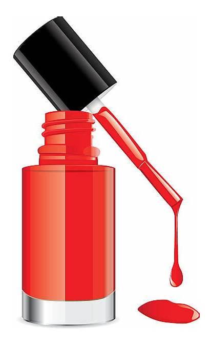 Nail Polish Clipart Pink Vector Drip Illustrations