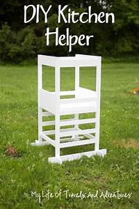 Kitchen Helper - Toddler Step Stool My life, Step stools