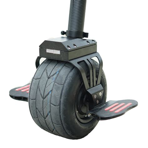 Electric Motor Balancing by One Wheel Single Self Balancing Electric Unicycle Scooter