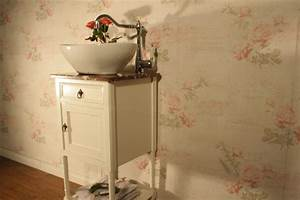 Badmöbel Vintage Style : landhaus badm bel bringen nostalgischen flair ins bad ~ Michelbontemps.com Haus und Dekorationen