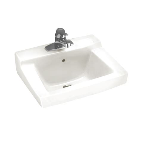home depot wall mount sink american standard declyn wall mount bathroom sink in white