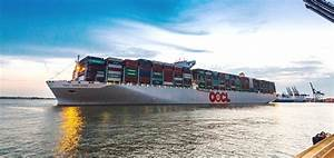 World's largest container ship comes to UK port