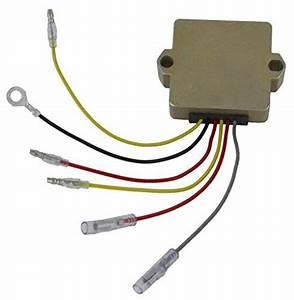Lactrical Rectifier Regulator Fits Mercury Mariner 6 Wire