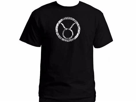 2019 astrology zodiac horoscope taurus distressed black t shirt great gift in t