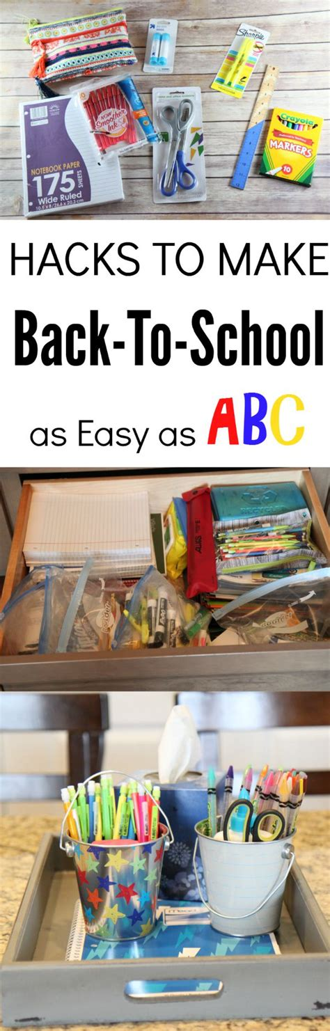 back to school hacks to hacks to make back to school shopping as easy as abc