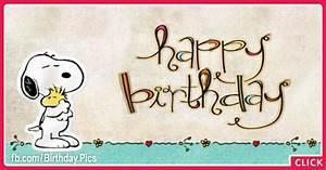 Snoopy Graffiti Happy Birthday Card For You : Happy ...