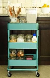 Ikea Küchen Zubehör : 60 smart m glichkeiten ikea raskog cart f r home storage zu verwenden beste inspiration ~ Orissabook.com Haus und Dekorationen