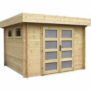 Garage En Bois Leroy Merlin : abri bois kivik m mm leroy merlin ~ Melissatoandfro.com Idées de Décoration