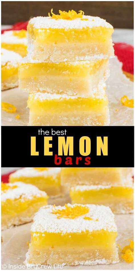 lemon bars  brucrew life