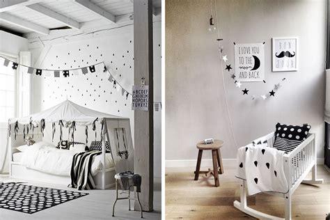 chambres d h es en déco chambre blanc et noir