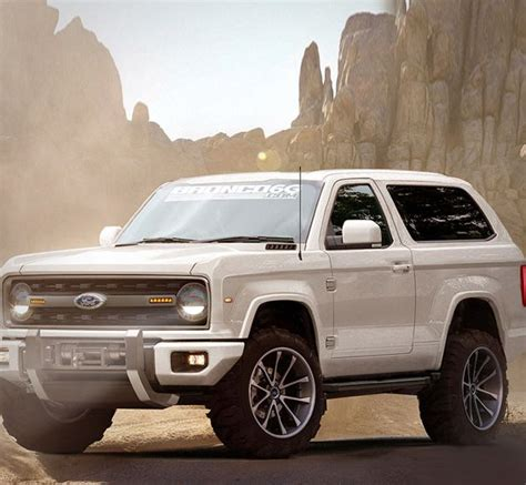 ideas  ford bronco concept  pinterest