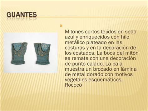 vestimenta del siglo xviii
