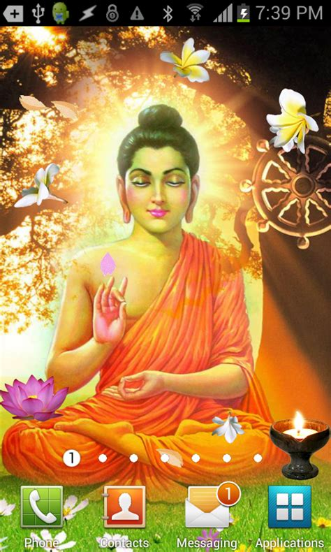 buddha live wallpaper gautama buddha live wallpaper appstore for