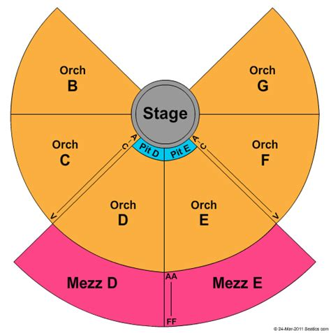 nycb theatre  westbury seating chart