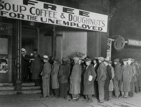 Men In Line At Al Capone's Soup Kitchen, Chicago 1930