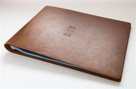 portfolio design ideas folder a3 leather presentation print portfolio for sydneysider