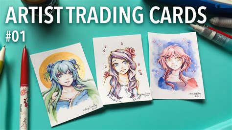 artist trading cards  amysunhee youtube