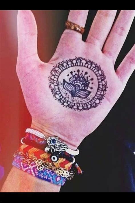 bohemian flower hand tattoo tattoomagz tattoo