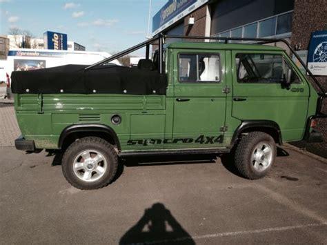 volkswagen t3 syncro doca vanagon volkswagen volkswagen transporter vw pickup