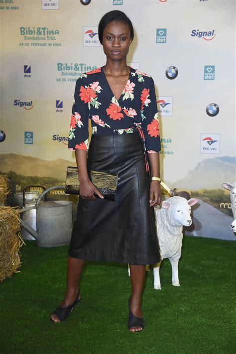 lorna ishema attends bibi tina tohuwabohu total premiere