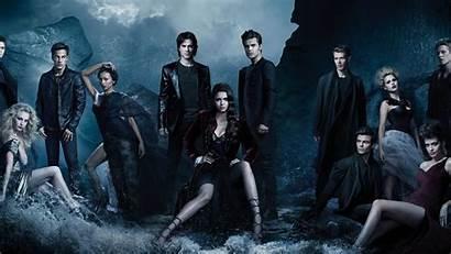 Vampire Diaries Wallpapers Damon Salvatore Elena Gilbert