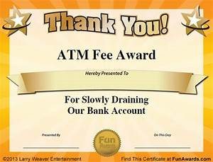 free funny award certificate templates for word image With free funny award certificate templates for word