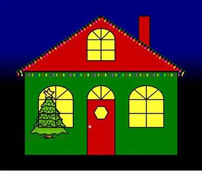 Lights Christmas Clipart Clip Lighting Holiday Street