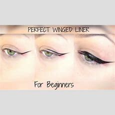 Perfect Winged Eyeliner For Beginners Youtube