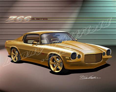 Item 2f80 1970 Custom Camaro