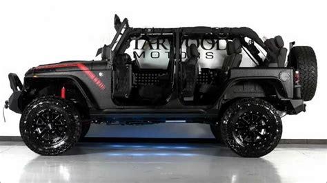 2013 Jeep Wrangler Unlimited El Diablo By Starwood Customs