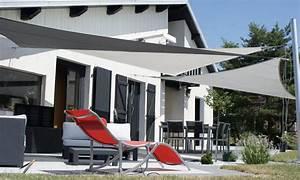 Voile Pour Terrasse : voile d 39 ombrage notre large s lection de voile pour ombrage ~ Premium-room.com Idées de Décoration