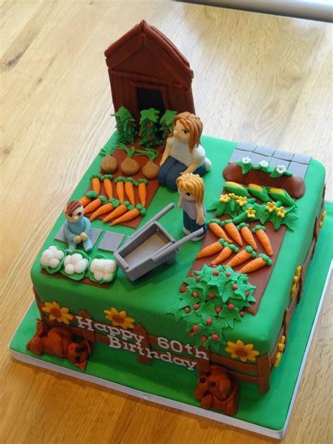 allotment garden birthday cake creative cakes