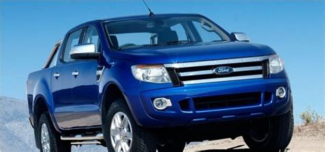 2013 New Preview Ford Ranger Double Cabin  World Automotive