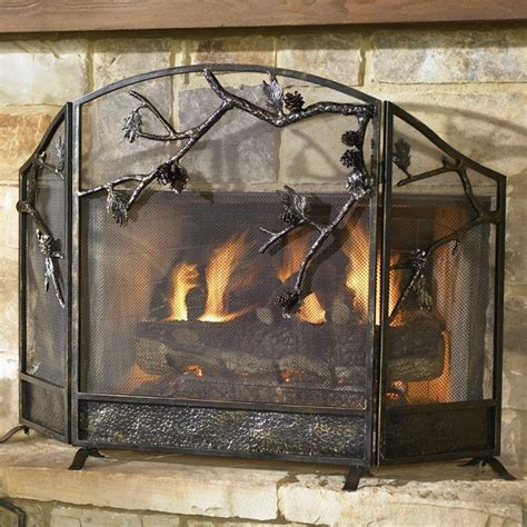 glass fireplace screen  custom fireplace quality