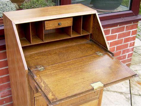 deco bureau a golden oak deco bureau antiques atlas
