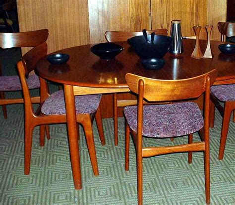 teak dining table and chairs home furniture design