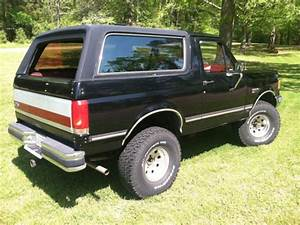 U0026 39 89 Black Ford Bronco Full Size For Sale In Williamsburg