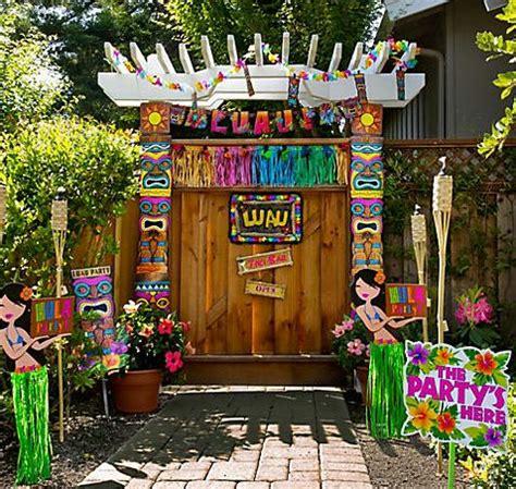party city serves  chic luau party ideas