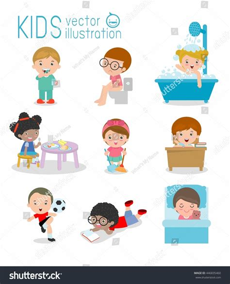 Daily Routines For Kids  Wwwpixsharkcom Images