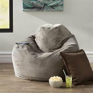 Soft, Sided, Bean, Bag, Lounger