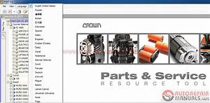 Crown Forklift Parts  U0026 Service Resource Tool  06 2017