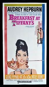 Audrey Hepburn Poster : breakfast at tiffanys cinemasterpieces rare movie poster 1961 audrey hepburn ebay ~ Eleganceandgraceweddings.com Haus und Dekorationen