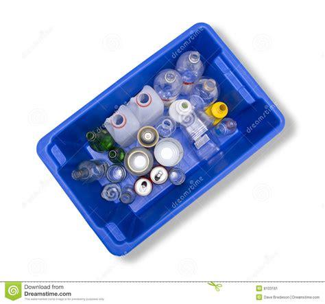 glass plastic metal recycling bin stock image image