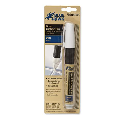 grout pen shop blue hawk grout coating pen at lowes com