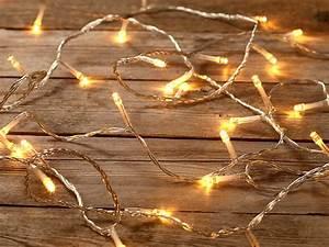 Bilder Mit Lichterkette : lunartec led lichterkette mit 100 leds warmwei 11 m innenbereich ~ Frokenaadalensverden.com Haus und Dekorationen