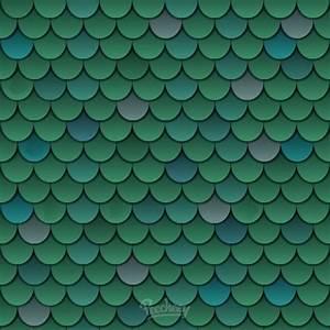 Fish scale seamless pattern background Peecheey
