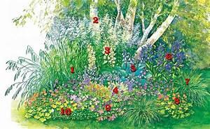 Pflanzen Im Schatten : die 25 besten ideen zu schattengarten auf pinterest schattenlandschaftsbau schattenspendende ~ Orissabook.com Haus und Dekorationen