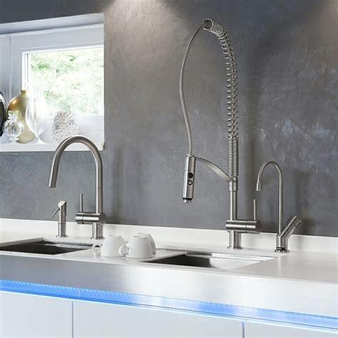 robinet design cuisine le robinet de cuisine design élégant par mgs