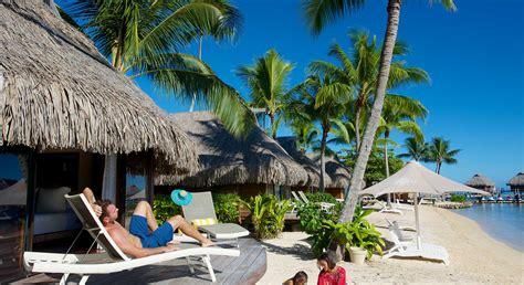 manava beach resort spa hotel moorea beach bungalow